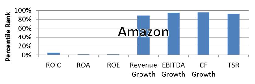 Executive Compensation Themes - Amazon Financial and TSR Metrics